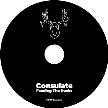 Feeding the Ducks by Consulate: CD face